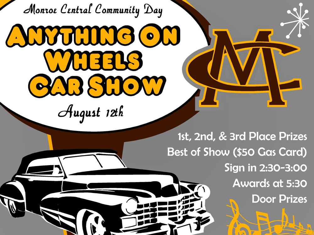 MC Community Day Car Show And 5K Night Walk – Aug. 12th