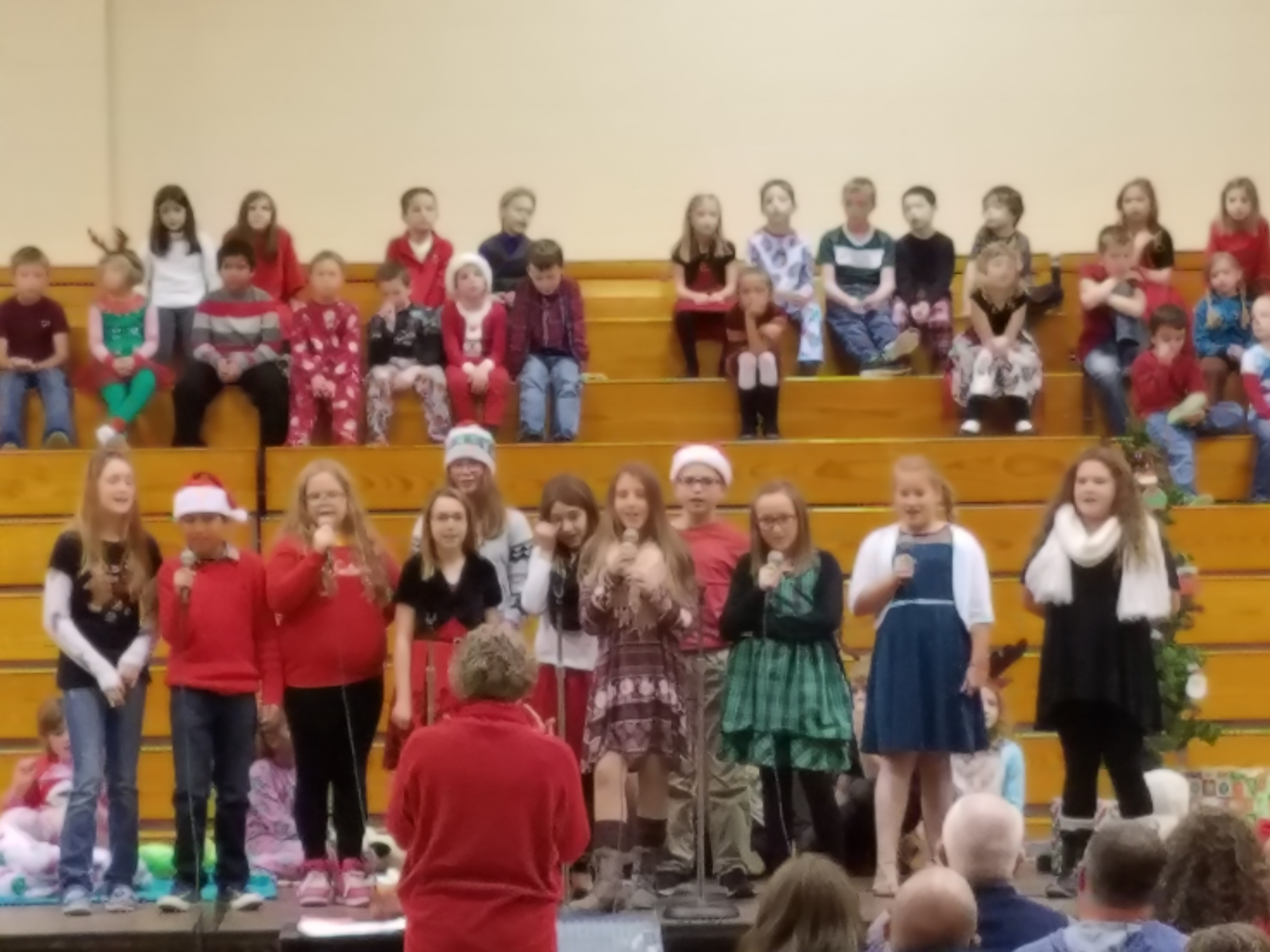 Monroe Central Elementary Winter Muscial